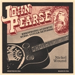 "John Pearse 3000 Resophonic Dobro Guitar Strings .016-.059 Resonator ""G"" Tuning String Set"