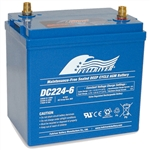 FullRiver DC224-6 224 amp hour Deep Cycle AGM Battery
