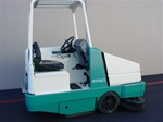 Tennant 6550 diesel sweeper