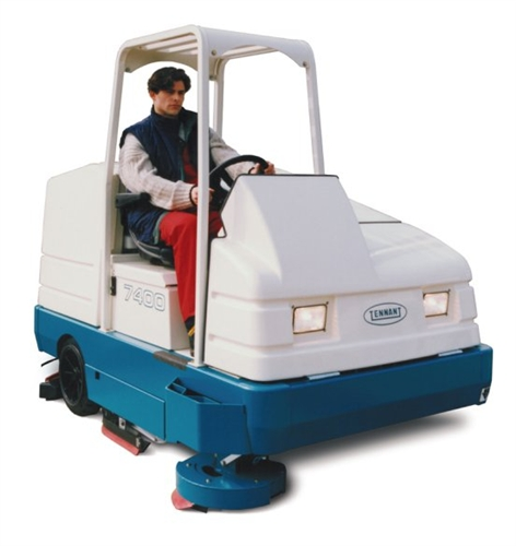 zamboni floor cleaner model 7400 floor matttroy