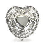 Bonbon Dish, Heart Shaped by Gorham, Sterling Heart