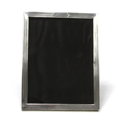 "Picture Frame, Sterling Deco Pin Stripe 9-1/4"" X 7-1/4"""