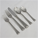 Column by Gorham, Stainless 5-PC Setting Dinner, Modern w/ Soup Spoon, 18/8 Glossy