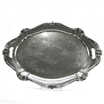 Chantilly by Gorham, Silverplate Tray, Chased Bottom w/ Handles