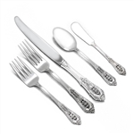 Rose Point by Wallace, Sterling Flatware Set, 40 Piece Set