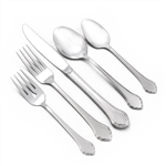 Summer Mist by Oneida, Stainless 5-PC Setting Dinner, Modern w/ Soup Spoon