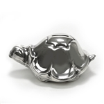 Bank by Lunt, Silverplate Turtle