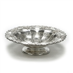 Compote by Hadoon Plate, Silverplate Grapes, Chased