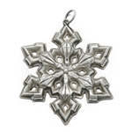 Pendant by Gorham, Sterling Snowflake