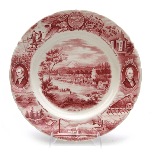 Johnson Brothers The Oregon Plate China Collector Plate