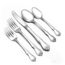 Arbor Rose/True Rose by Oneida, Stainless 5-PC Setting