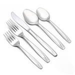 Lawncrest by International, Stainless 5-PC Place Setting
