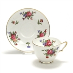 Dresden Spray by Crown Staffordshire, China Cup & Saucer
