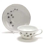 Platinum Star Burst by Creative, China Cup & Saucer