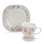 Pacific Mist by Corning, Earthenware Cup & Saucer