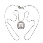 Necklace by Brighton, Silverplate, Chris Convertible