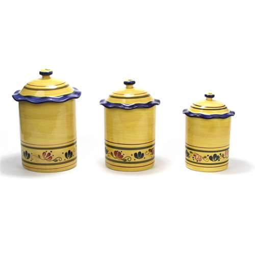 Welcome Home By Home U0026 Garden Party, Stoneware Canister Set