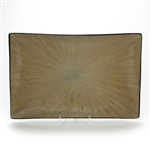 Ventana, Light Dark Brown by Joseph Abbound, Stoneware Platter