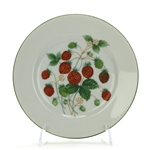 Salad Plate by Schmid, China, Raspberries