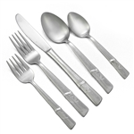 Bamboo Design by Eldan, Stainless 5-PC Setting w/ Soup Spoon