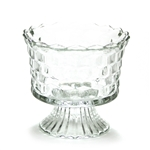 Cube Clear by Jeannette, Glass Compote