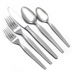 Textured Stripe by Koba, Stainless 5-PC Place Setting