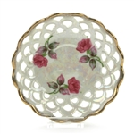 Saucer by Norcrest, China, Pink Roses