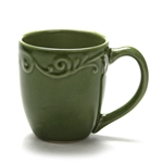 Mug by Gibson, Stoneware, Green Scroll Design