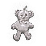Pendant, Sterling, Teddy Bear