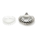 Soap Dish by Made in England, Silverplate/Glass, Shell