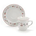 White Christmas by Farberware, Stoneware Cup & Saucer