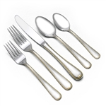 Golden Ribbon Edge by Gorham, Stainless 5-PC Place Setting