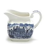 Royal Homes of Britain Blue by Wedgwood, China Cream Pitcher