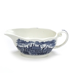 Royal Homes of Britain Blue by Wedgwood, China Gravy Boat