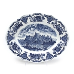 Royal Homes of Britain Blue by Wedgwood, China Serving Platter