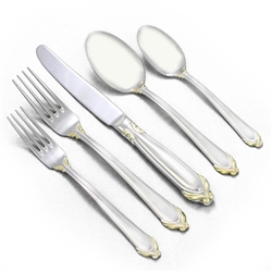 Delacroix Gold by Mikasa, Stainless 5-PC Setting