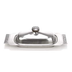 Decorator by International, Stainless Butter Dish