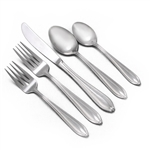 Courtship by Stanley Roberts, Stainless 5-PC Setting w/ Soup Spoon
