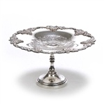 Compote by Sheffield, Silverplate, Grapes, Chased