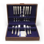 Repousse by Kirk, Sterling Sterling Flatware Set, 40 Piece Set