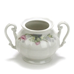 Sugar Bowl by Fena Porzellan, Pink Poppies