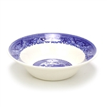 Fruit Bowl, Individual, Earthenware, Blue Willow Design