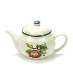 Red Apple by Housewares Int., Stoneware Demi Teapot, Four Cup