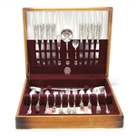 Holiday by National, Silverplate Flatware Set, 71 PC Set