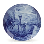 Mother's Day by Berlin Design, China Decorators Plate, Deer & Fawn