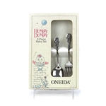 Humpty Dumpty by Oneida, Stainless Baby Spoon & Fork