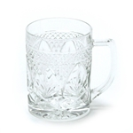 Antique Clear by Cristal D'Arques, Glass Mug