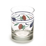 Poppies On Blue by Lenox, Glass Double Old Fashion