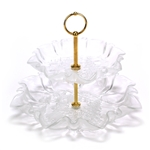 Christmas Story by Mikasa, Glass Tier Serving Tray