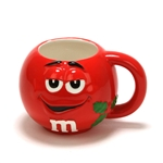 Mug by Galerie, Ceramic, M & M, Red Holiday